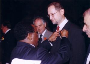 Chevalier de l'Ordre National de Côte d'Ivoire-Abidjan2007