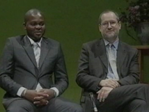TV interview RTNC-Kinshasa Congo 2010